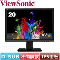 R2【福利品���ViewSonic優派 20型 IPS液晶螢幕 VX2039-SA