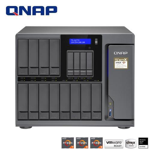 【綠蔭-免運】QNAP TS-1677X-1200-4G 網路儲存伺服器