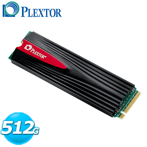 PLEXTOR M9PeG 512GB M.2 2280 PCIe SSD 固態硬碟 / 散熱片