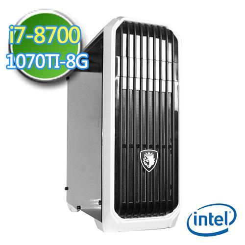 技嘉Z370平台【灵幻刺客】Intel第八代i7六核 GTX1070TI-8G独显 2TB烧录电脑