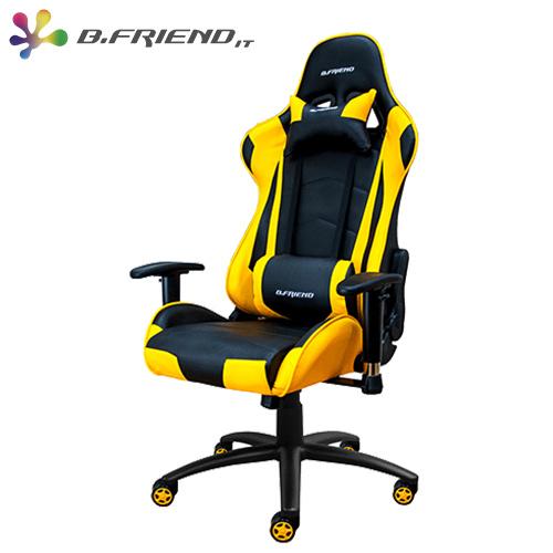B.Friend GC03 電競 椅 黃黑