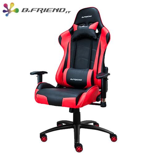 B.Friend GC03 電競 椅 紅黑