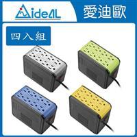愛迪歐AVR 穩壓器PSCU-1000(1KVA)四入組 顏色隨機出貨