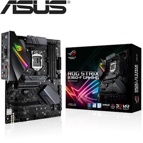 ASUS華碩 ROG STRIX B360-F GAMING 主機板
