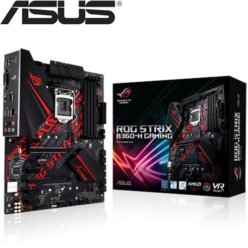 ASUS華碩 ROG STRIX B360-H GAMING 主機板