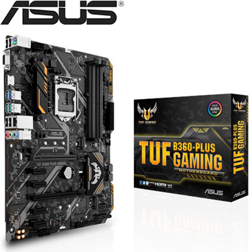 ASUS華碩 TUF B360-PLUS GAMING 主機板
