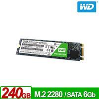 WD SSD 240GB M.2 2280 SATA 固態硬碟(綠標)