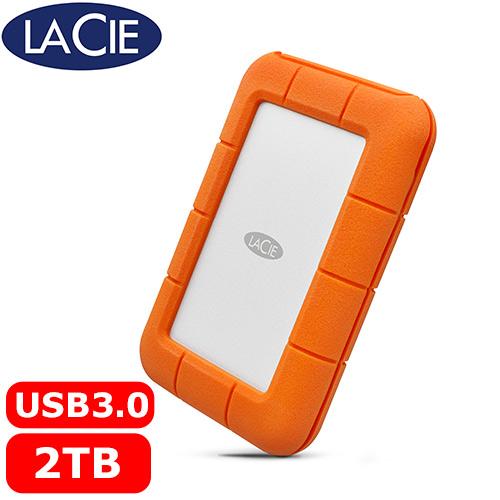 LaCie Rugged 2.5吋 2TB USB-C/USB3.0雙介面 行動硬碟