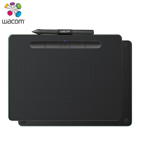 Wacom Intuos Comfort Plus Medium 藍牙版 繪圖板 黑 (中)