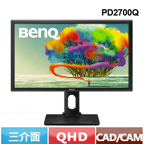 R2【福利品】BENQ PD2700Q 27型 專業色彩管理螢幕
