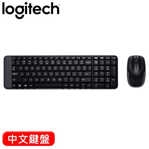 【福利品】Logitech 羅技 MK220 無線鍵盤滑鼠組【包裝破損,商品全新,憑發票保固】