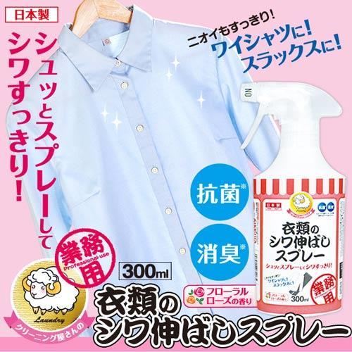 【AIMEDIA艾美廸雅】衣物除皺消臭噴霧劑 300ml【日本生活雜貨品牌【獨家88折!】】