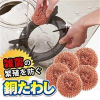 【AIMEDIA艾美迪雅】硬銅刷5入(廚房清潔用)