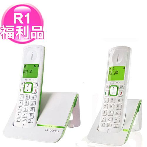 ALCATEL阿爾卡特 無線電話子母機 Versatis F200Duo 綠色