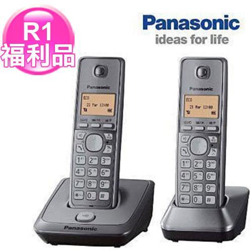 R1【福利品】国际牌1.8G数码双手机无线电话KX-TG2712