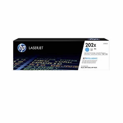 HP 202X 高列印量青色原廠 LaserJet 碳粉匣 (CF501X)