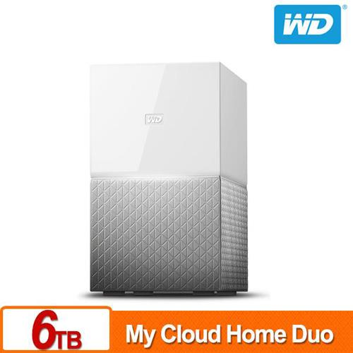 WD My Cloud Home Duo 6TB(3TBx2) 網路儲存伺服器