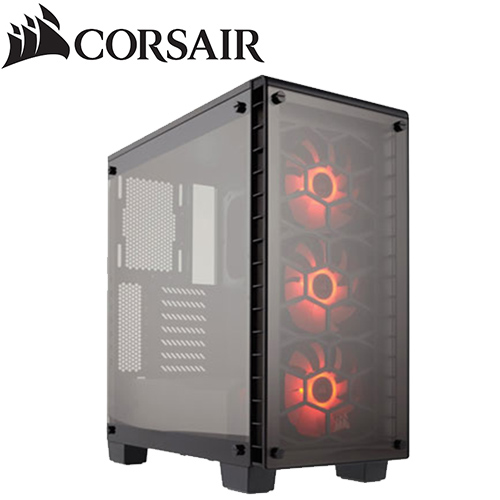 CORSAIR 海盜船Corsair Crystal 460X RGB 全透側 機殼