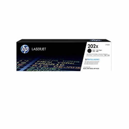 HP 202X 高列印量黑色原廠 LaserJet 碳粉匣 (CF500X)