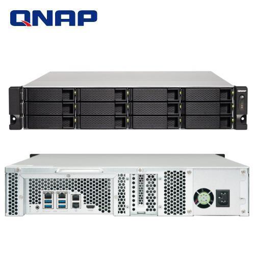 QNAP 威聯通 TS-1253BU-RP-8G 12Bay NAS 網路儲存伺服器