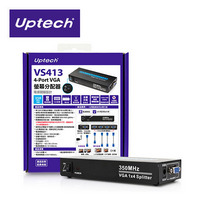 Uptech登昌恆 VS413 4-Port VGA螢幕分配器