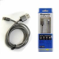 彰唯 2.1A 快充 Micro USB 強力磁吸充電專用線 1.2米 灰色