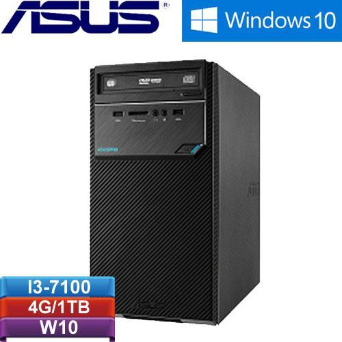 ASUS华硕 H-D320MT-I37100031T  桌上型电脑