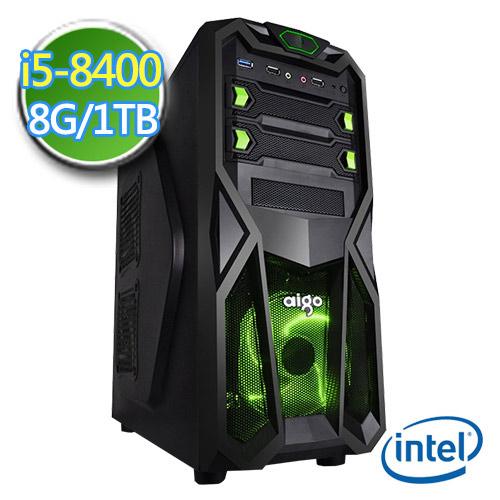 技嘉B360平台【闇天猎人】i5六核 1TB效能电脑