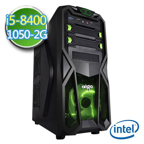 技嘉B360平台【闇天秘术】i5六核 GTX1050-2G独显 1TB效能电脑