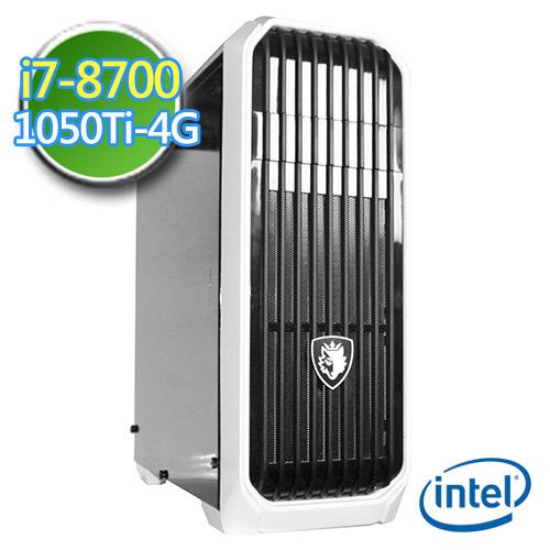 技嘉B360平台【绝冻灵使】i7六核 GTX1050Ti-4G独显 1TB效能电脑