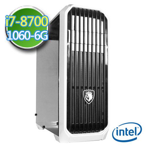 技嘉B360平台【绝冻龙牙】i7六核 GTX1060-6G独显 1TB效能电脑