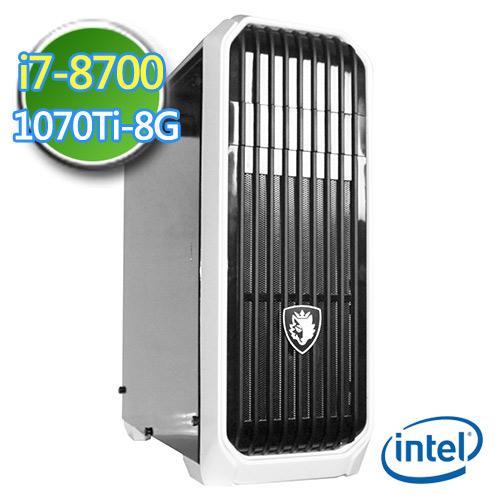 技嘉B360平台【绝冻徽章】i7六核 GTX1070TI-8G独显 1TB效能电脑