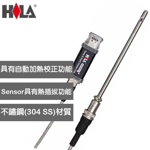 HILA USB溫、溼度偵測感應記錄器 URH-2
