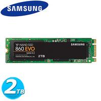 Samsung 860 系列 860 EVO M.2 SSD-2TB (M.2/MZ-N6E2T0BW)