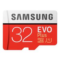 SAMSUNG三星 EVO PLUS microSDHC UHS-I 32GB 記憶卡