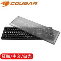 COUGAR 美洲獅 PURI 機械鍵盤 白光 Cherry紅軸 中文
