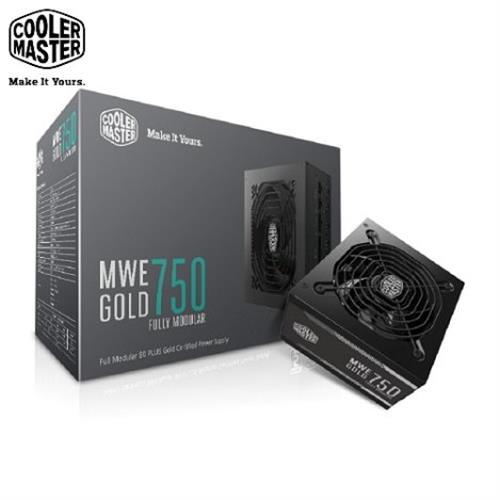 Cooler Master MWE 全模组化 80Plus金牌 750W 电源供应器
