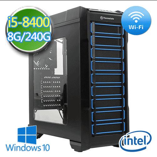 技嘉B360平台【邪兵追猎】i5六核 SSD 240G效能电脑