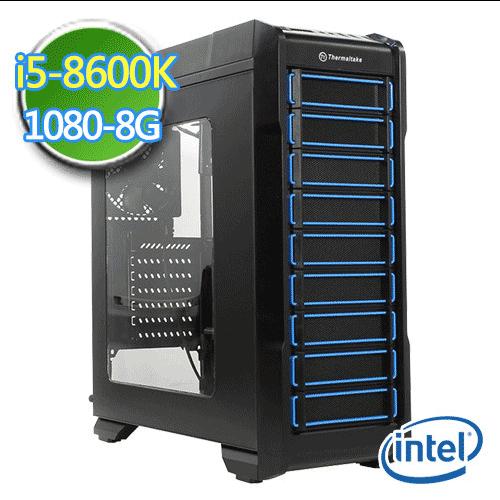技嘉Z370平台【神造令旗II】i5六核 GTX1080-8G独显 SSD 240G烧录电脑