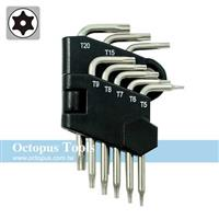 Octopus 中空星型扳手8支組 T5-T20(486.4220)
