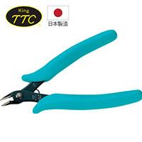 日本製 KING TTC 迷你電子用斜口鉗 FC-125