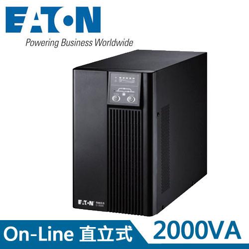 Eaton飛瑞 2KVA On-Line 在線式UPS不斷電系統 C2000F
