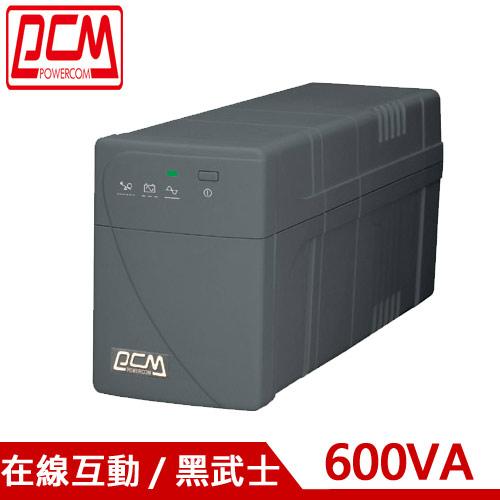 PCM科風 600VA 在線互動式 UPS不斷電系統 BNT-600AP