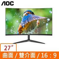 AOC C27B1H  27型 16:9 曲面液晶螢幕