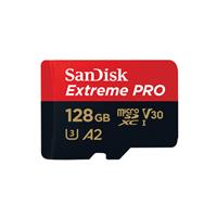 SanDisk 128G Extreme PRO A2 MicroSD記憶卡