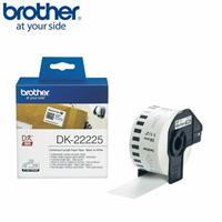 BROTHER 連續標籤帶 38mm 白底黑字 DK-22225
