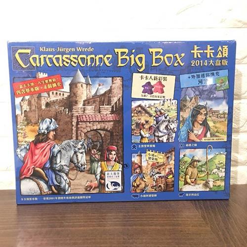 桌上遊戲 卡卡頌大盒版