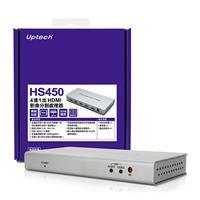 Uptech登昌恆  HS450 4進1出 HDMI影像分割處理器