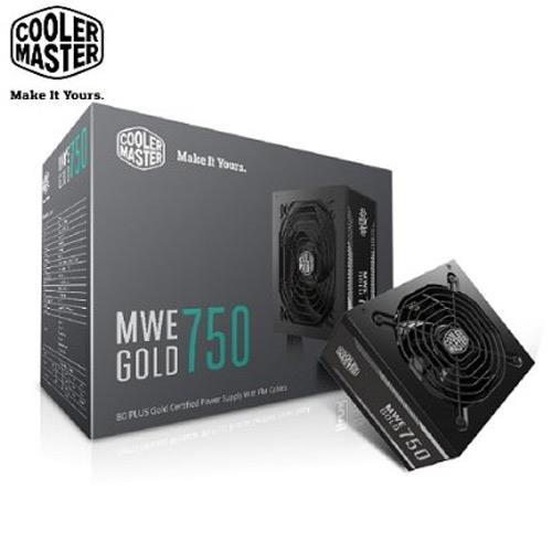 Cooler Master MWE 80Plus金牌 750W 电源供应器
