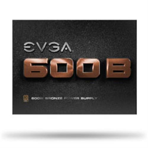 艾維克EVGA不銅凡響600W BQ 80PLUS 銅牌半模組電源供應器